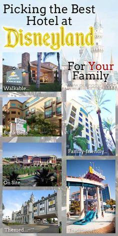 Disneyland Family Packages Finding YOUR Hotel At Disneyland - Disney family packages