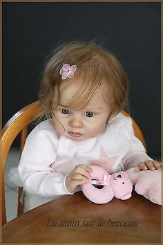 """reborn, baby, TODDLER, girl,""""LOLA"""" Ruby Phil Donnelly  sculpt OOAK"""