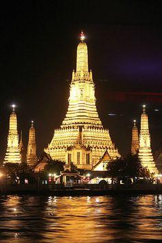 Thailand temple  Wat Arun in Bangkok