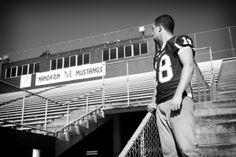 Senior Portrait Session by True Era Photography Black And White Football, Jacksonville Florida, Senior Portraits, Mustang, Teen, Photography, Travel, Mustangs, Viajes