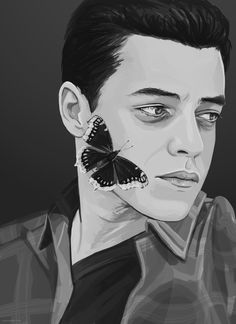 """zyca: """" """" No one else is dealing with your demons Meaning maybe defeating them Could be the beginning of your meaning, friend. """" edit: prints are now available on redbubble! """""""
