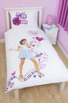 Parure de lit Violetta Madrid http://www.toluki.com/prod.php?id=554 #Toluki #enfant #chambre