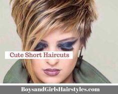 Cute Short Haircuts Boys and Girls Hairstyles and Girl Haircuts short hair styles for girls - Hair Style Girl Bob Haircut For Girls, Cute Bob Haircuts, Inverted Bob Haircuts, Girls Short Haircuts, Cute Hairstyles For Short Hair, Girl Hairstyles, Girls Hairdos, Short Girls, Medium Short Hair