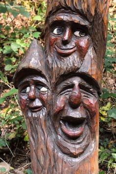 Drei fröhliche Waldgeister... by Thomas Schimmele