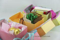 Jinky's Crafts & Designs: DIY Cube Favor Boxes