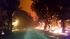 Sept 2015: This Horrifying Wildfire Escape Video Is a Drive Through Hell on Earth
