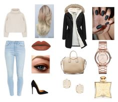 """""""Untitled #248"""" by crazy-for-1d-5sos ❤ liked on Polyvore featuring Paige Denim, Christian Louboutin, Givenchy, Kendra Scott, Hermès, Marc by Marc Jacobs, women's clothing, women, female and woman"""