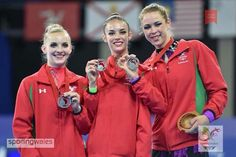Commonwealth Silver for Rhythmic Gymnasts