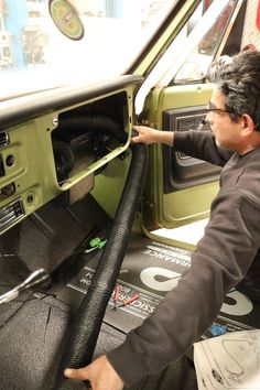 1971 Chevy C10 Vintage Air SureFit Install C10 Trucks, Air Supply, Rubber Grommets, Climate Control, Chevy C10, Vintage Air, Radiators, Radiant Heaters