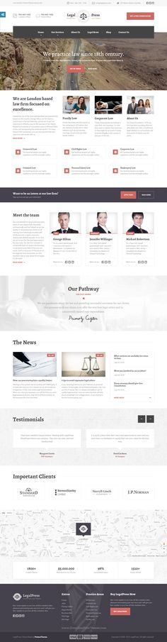 LegalPress, the best premium Bootstrap HTML template for lawyers, #lawfirms, legal offices, attorneys, solicitors, barristers, advisers, consultants, and #financial firms #website.