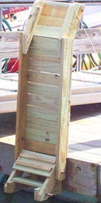 Beavertail Dog Ladder For Boat Gander Mountain Dogs A