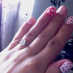 Fun valentines day nails :)