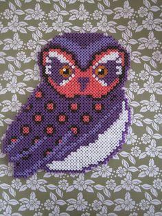 Owl hama perler beads by F I E S fjollerier