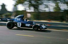 Jackie Stewart - Tyrrell - Montjuïc, Spanish Grand Prix - 1973