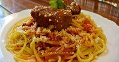 Ελληνικές συνταγές για νόστιμο, υγιεινό και οικονομικό φαγητό. Δοκιμάστε τες όλες Cookbook Recipes, Cooking Recipes, Kitchen Stories, Pasta Noodles, Meat Chickens, Greek Recipes, Lasagna, Spaghetti, Beef