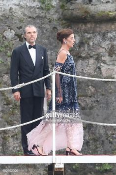 Caroline, Princess of Hanover sighting during Pierre Casiraghi and Beatrice Borromeo Wedding on August 1, 2015 in Isola Grande, Stresa, Italy.