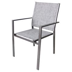 Stackable Patio Dining Chair -  Manhattan - Taupe