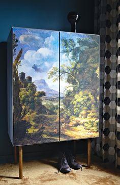 Фотография: Мебель и свет в стиле Лофт, Эклектика, Малогабаритная квартира, Квартира, Дома и квартиры, квартира в германии – фото на InMyRoom.ru
