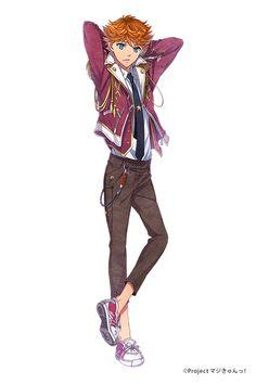 帯刀 凛太郎 CV.小野友樹 | キャラクター | PSVITA®専用ソフト『マジきゅんっ!ルネッサンス』公式サイト