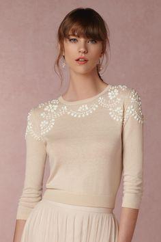 Millie Sweater from BHLDN   #BHLDNstylists