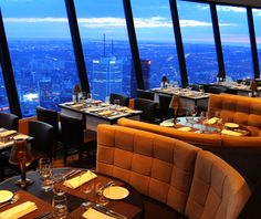 Cn Tower Toronto Ontario  Oh The Places You'll Go  Pinterest Alluring Skylon Revolving Dining Room Design Inspiration