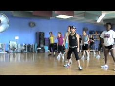 Pitbull - Give Me Everything - GREAT Zumba routine :)