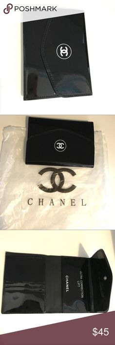 Chanel Passport Wallet New- Vip gift from Chanel. I also have a sheepskin and caviar version for $125 not yet listed. Ask if interested 😊 CHANEL Makeup