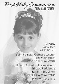 Items similar to First Communion Invitation - Overlay Photo Invite - Holy Communon Invitations for Boy or Girl on Etsy First Communion Invitations, Baptism Party, Communion Gifts, First Holy Communion, Printing Services, Party Planning, Overlays, Catholic, Primers