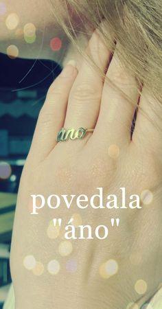 Predstavujeme Vám originálny zásnubný prsteň'ANO' dizajnovaný Klenotníctvom Atalovičom. Prsteň je zbieleho aj žltého zlata vlesklom vyhotovení. Čo poviete, páčil by sa Vašej polovičke? #zasnubnyprsten#sperky#klenotnictvoatalovic Engagement Rings, Jewelry, Rings For Engagement, Wedding Rings, Jewlery, Jewels, Commitment Rings, Anillo De Compromiso, Jewerly