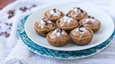 French silk pie meets chocolate chip cookies in these easy, adorable bite-sized treats!