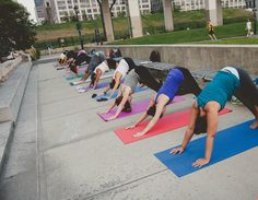Summer hot list: New York City's most amazing outdoor yoga classes