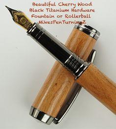 Wooden Fountain Pen this Custom Fountain Pen by MikesPenTurningZ, $109.00