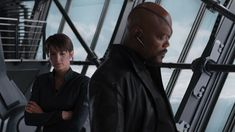 """Samuel L. Jackson and Cobie Smulders cast in 'Spider-Man: Far From Home' movie. Samuel L. Jackson and Cobie Smulders will reprise their Marvel cinematic roles as Nick Fury and Maria Hill in upcoming """"Spider-Man: Far From Home"""" movie sequel. Marvel Man, Captain Marvel, Man Thing Marvel, Walt Disney, Disney Play, Maria Hill, Cobie Smulders, Nick Fury, Agents Of Shield"""