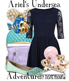 """Ariel's Undersea Adventure"" by lalakay on Polyvore"