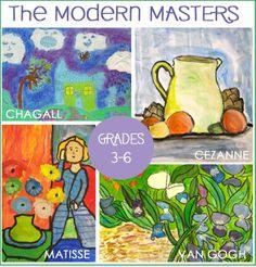 Matisse's Purple Robe and Anemones Art Lesson Plan
