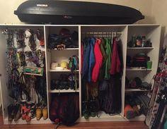 Diving Gear Storage Ideas Google Search Scuba Pinterest - Closet ideas for tent camping