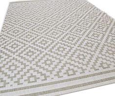 Patio PAT11 Diamond Grey Rugs | Modern Rugs
