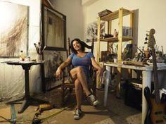 "Saatchi Art Artist Marjan Fahimi; Photography, ""Inside the Studio"" #art"