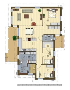 Perustiedot, Jetta, v'h'n kulmikas, muuten hyvi' ideoita j'rjestykseen Sauna, House Floor Plans, My House, Sweet Home, Flooring, How To Plan, Building, Interior, Sims