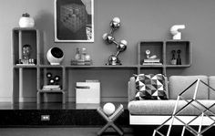 So, here are some midcentury modern living room designs for you. ... window, one can see the surrounding from the living room with black and white colors.