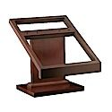 Our custom wood display stands can be constructed from any hardwood or softwood and finished in a variety or stains or paints. To learn more about our display stands, visit http://www.brownwoodinc.com/displays/display-stands.asp.
