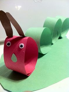 Very Hungry Caterpillar craft!