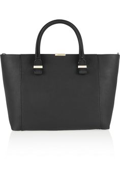 Victoria Beckham | Quincy textured-leather tote | NET-A-PORTER.COM