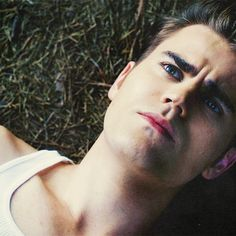 oh paul wesley, please turn me into a vampire and I'll be your Elena forever! :)