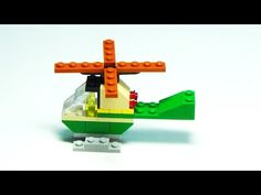 "Lego Helicopter Building Instructions - Lego Classic 10695 ""How To"" - YouTube"
