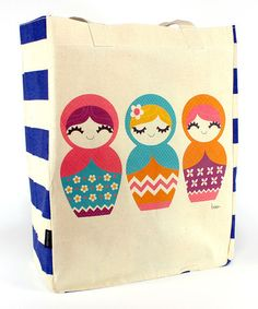 Look what I found on #zulily! Matryoshka Tote by Common Rebels #zulilyfinds