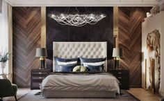 20 Simple And Modern Bedroom Interior Design Ideas Modern Luxury Bedroom, Master Bedroom Interior, Luxury Bedroom Design, Modern Master Bedroom, Master Bedroom Design, Contemporary Bedroom, Luxurious Bedrooms, Home Interior, Home Decor Bedroom