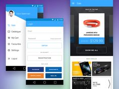 Marketguru Android App by Valik Boyev for Heyllow