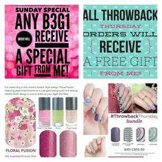 SUNDAY SPECIAL   Every buy 3 get 1 free order will receive a FREE ACCENT SHEET FROM ME!  Order the Throwback Thursday bundle,  and I'll  upgrade the accent sheet TO A FREE HALF SHEET!! #mkwraps #jamberrynails #throwbackthursday #diynails   https://mkwraps.jamberry.com/us/en/shop/party/home/eef0c4af-cd3e-43ee-a377-c4e1f7bf7a03