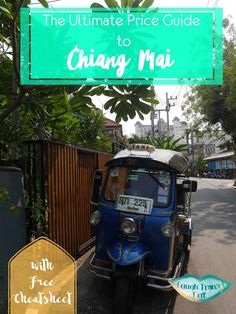 Wouldn't it make our lives so much easier if we have a price guide to where we travel? Well, here's one for Chiang Mai, Thailand! One thing I love about South-East Asia is how cheap things are due to the lower cost of living. Travelers are well aware of that and unfortunately, so do the locals; and there's always someone or some company looking to rip you off